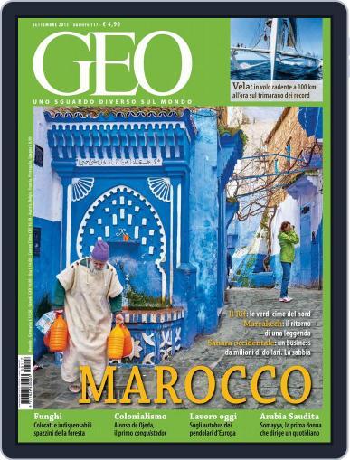Geo Italia September 1st, 2015 Digital Back Issue Cover