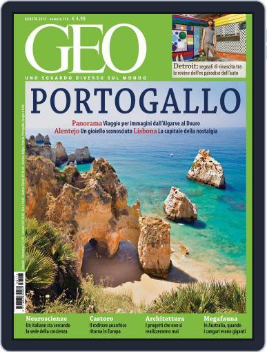 Geo Italia July 20th, 2015 Digital Back Issue Cover