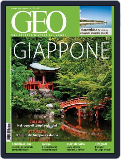 Geo Italia May 19th, 2015 Digital Back Issue Cover