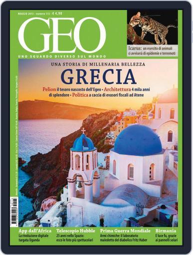 Geo Italia April 20th, 2015 Digital Back Issue Cover