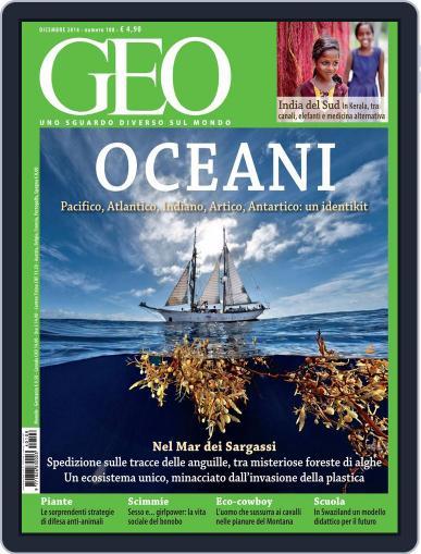 Geo Italia November 21st, 2014 Digital Back Issue Cover