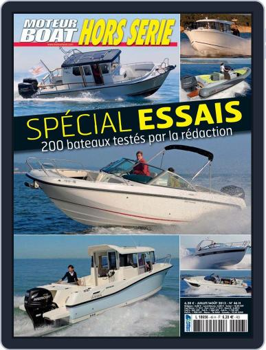 Moteur Boat Magazine HS (Digital) July 10th, 2013 Issue Cover