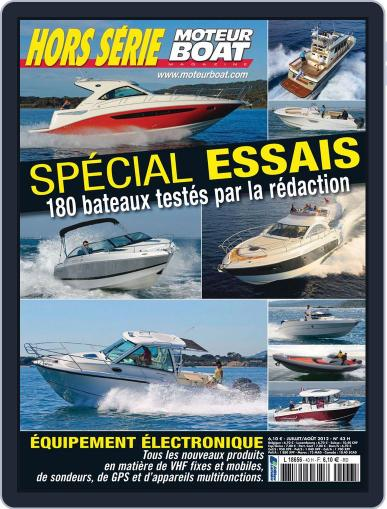 Moteur Boat Magazine HS (Digital) July 12th, 2012 Issue Cover