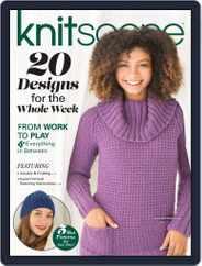 Knitscene (Digital) Subscription September 12th, 2019 Issue