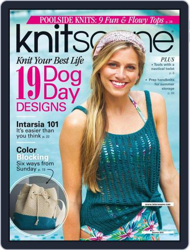 Knitscene (Digital) March 15th, 2018 Issue Cover