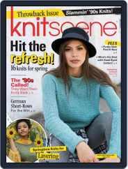 Knitscene (Digital) Subscription January 3rd, 2018 Issue