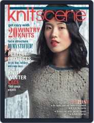 Knitscene (Digital) Subscription September 1st, 2016 Issue