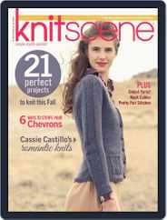 Knitscene (Digital) Subscription July 3rd, 2013 Issue