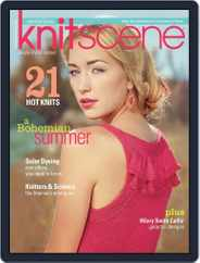 Knitscene (Digital) Subscription April 3rd, 2013 Issue