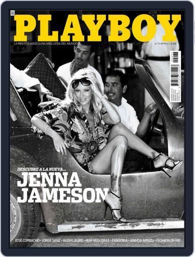 Playboy - España February 24th, 2009 Digital Back Issue Cover