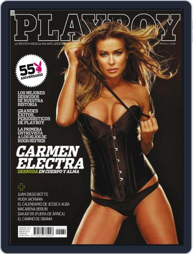 Playboy - España December 31st, 2008 Digital Back Issue Cover