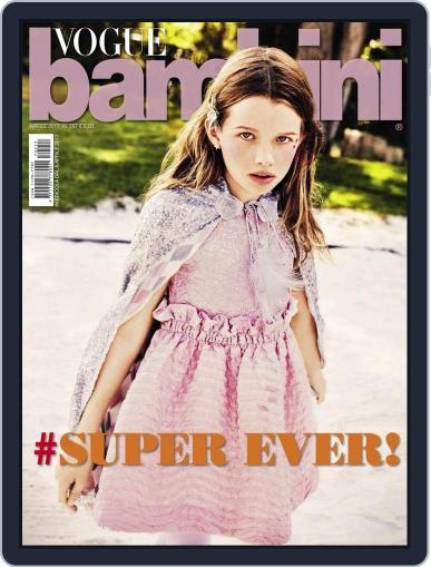 Vogue Bambini (Digital) April 1st, 2017 Issue Cover