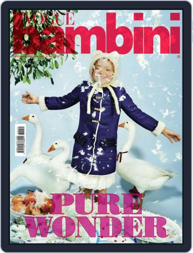 Vogue Bambini (Digital) November 1st, 2016 Issue Cover