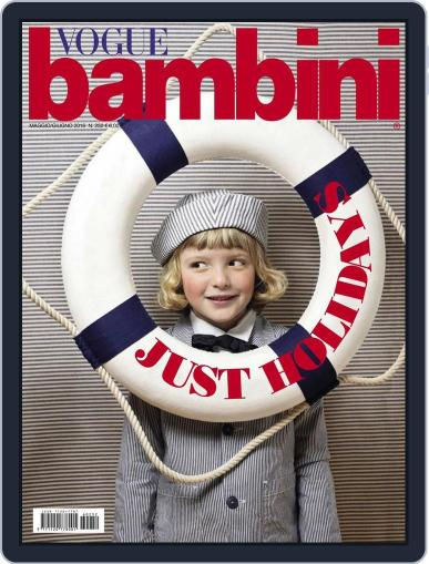 Vogue Bambini (Digital) April 20th, 2016 Issue Cover