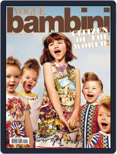 Vogue Bambini (Digital) February 27th, 2016 Issue Cover