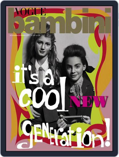 Vogue Bambini (Digital) November 1st, 2015 Issue Cover