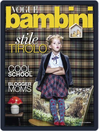 Vogue Bambini (Digital) September 1st, 2015 Issue Cover