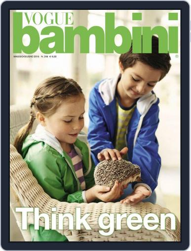 Vogue Bambini (Digital) May 5th, 2015 Issue Cover