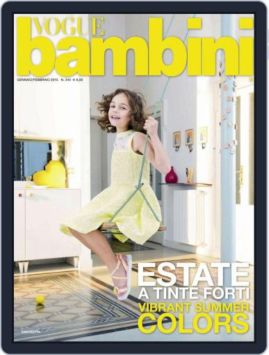 Vogue Bambini (Digital) January 14th, 2015 Issue Cover