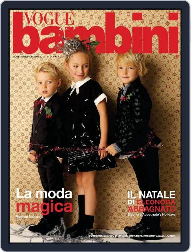Vogue Bambini (Digital) November 13th, 2014 Issue Cover