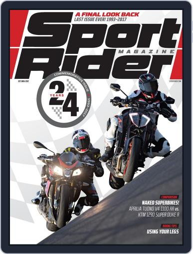 Sport Rider October 1st, 2017 Digital Back Issue Cover