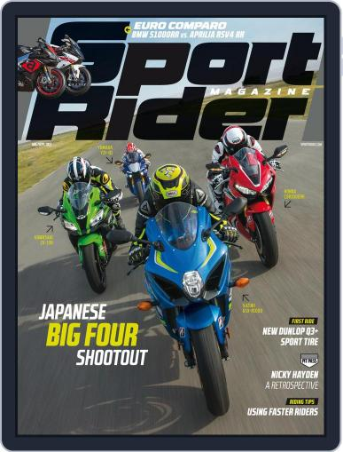 Sport Rider (Digital) August 1st, 2017 Issue Cover