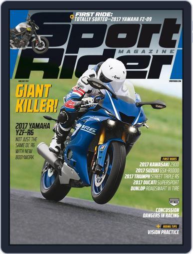 Sport Rider (Digital) June 1st, 2017 Issue Cover