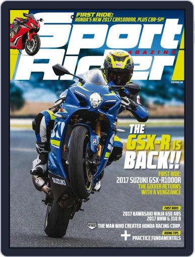 Sport Rider (Digital) April 1st, 2017 Issue Cover