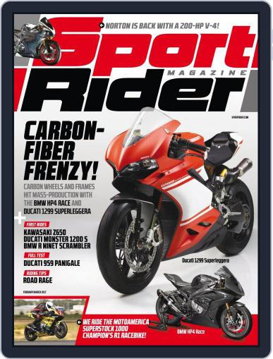 Sport Rider (Digital) February 1st, 2017 Issue Cover