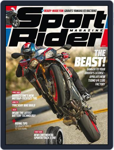 Sport Rider (Digital) April 30th, 2016 Issue Cover