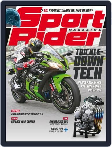 Sport Rider February 29th, 2016 Digital Back Issue Cover