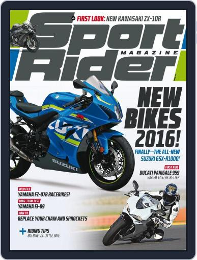 Sport Rider (Digital) January 2nd, 2016 Issue Cover