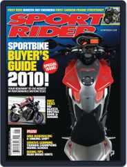 Sport Rider (Digital) Subscription December 1st, 2009 Issue
