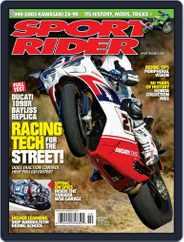 Sport Rider (Digital) Subscription September 22nd, 2009 Issue