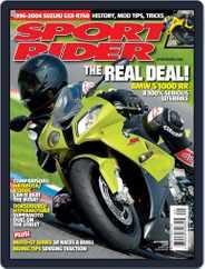 Sport Rider (Digital) Subscription August 18th, 2009 Issue