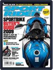 Sport Rider (Digital) Subscription December 5th, 2008 Issue