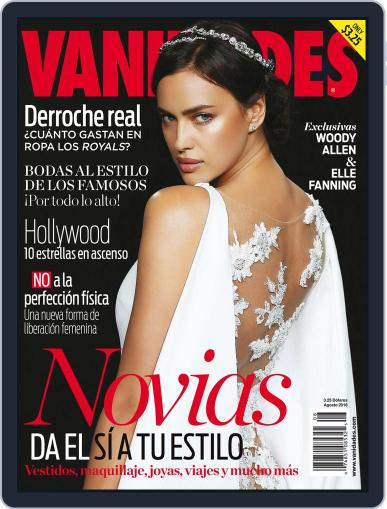 Vanidades Usa (Digital) August 1st, 2016 Issue Cover