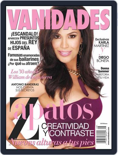 Vanidades Usa (Digital) July 17th, 2012 Issue Cover