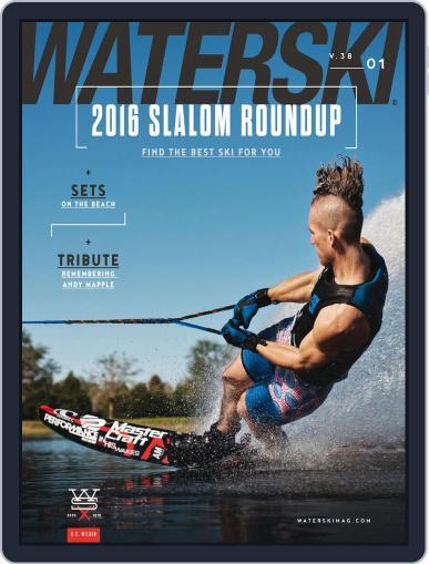 Water Ski February 13th, 2016 Digital Back Issue Cover
