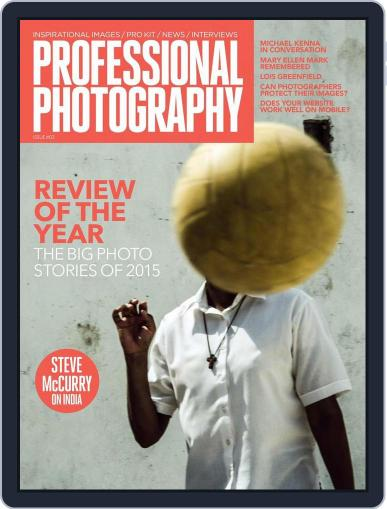 Professional Photography Magazine (Digital) December 10th, 2015 Issue Cover