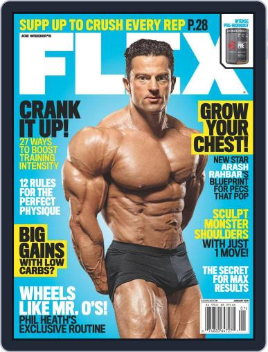Flex (Digital) January 1st, 2018 Issue Cover
