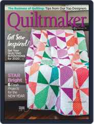 QUILTMAKER (Digital) Subscription January 1st, 2020 Issue