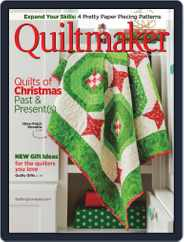QUILTMAKER (Digital) Subscription November 1st, 2019 Issue
