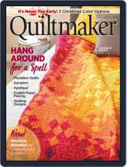 QUILTMAKER (Digital) Subscription September 1st, 2019 Issue
