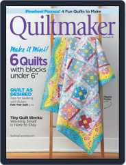 QUILTMAKER (Digital) Subscription March 20th, 2019 Issue