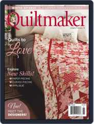 QUILTMAKER (Digital) Subscription January 1st, 2019 Issue