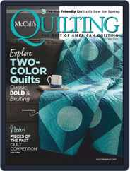 McCall's Quilting (Digital) Subscription May 1st, 2020 Issue