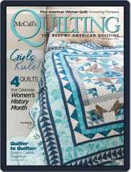 McCall's Quilting (Digital) Subscription March 1st, 2020 Issue