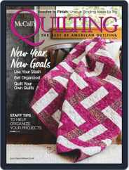 McCall's Quilting (Digital) Subscription January 1st, 2020 Issue