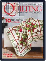 McCall's Quilting (Digital) Subscription November 1st, 2019 Issue